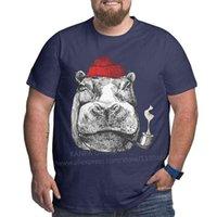 Kanpa 브랜드 코튼 가로복 T 셔츠 큰 남자 패턴 의류 운동 탑스 대형 회색 티셔츠 플러스 사이즈 210707