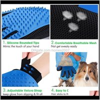 Toys Chews Home & Gardensile Toy For Brush Deshedding Gentle Efficient Pet Grooming Glove Dog Bath Cat Cleaning Supplies Aessories Drop Deliv