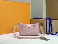 Mulheres Luxurys Designers Bags M80471 Bolsa Fácil na Correia Mensageiro Totes das Mulheres Moda Bolsas De Ombro Bolsas Classic Crossbody Tote