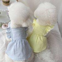 Small Dog Dress Cat Chihuahua Puppy Skirt Teacup Poodles Doggy Yorkshire maltese Shih Tzu Pomeranian Pet Clothing XXS