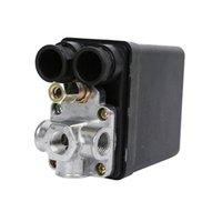 Válvula de interruptor de pressão de ar pesado de controle de casa inteligente 90 PSI -120 Serviço conveniente 240V 16A carga automática / descarga