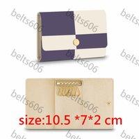 키 지갑 남자 키 지갑 키 체인 여성 망 2021 키 Chian 도매 대용량 클래식 패턴 Pochette 펀치 Keyholder Keyholyers Keychains