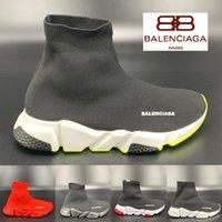 Top Quality Speed Trainer De Luxe Chaussettes Chaussures Fille De La Plate-forme De La Mode Chaussures  Hommes Femmes Sneakers Taille 36-45
