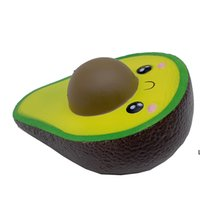 Squeeze Ball New Squillies Simulated Avocado Slow Steigende Sahne duftende Stress Relief Spielzeug Nette Puppen Hohe Qualität Squeeze Ball DHB6350