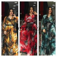 Ethnic Clothing 2021 Summer Maxi Dresses For Women Fashion African Dashiki Print Dress Long Sleeve Kaftan Party Prom Gown Hippie Clothes