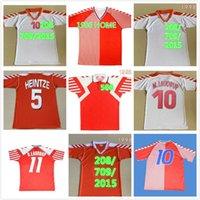 Dinamarca Heinteze Soccer Jerseys 1992 1998 98 Inicio B.laudrup 92 M.laudrup Camisa de fútbol retro HERRP