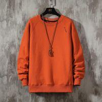 Men's Hoodies & Sweatshirts 2021 Solid Color Black Sweatshirt Spring Autumn Hoody Casual Streetwear Clothes