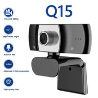 2MP 1080P HD USB Webcam with Microphone Video Conference Live Streaming PC Laptop Desktop Computer Accessory