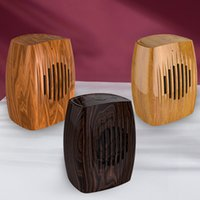 small Wireless bluetooth Portable Speakers classic wooden subwoofer for apple mobile Gaming PC external TWS music player TF card AUX FM radio home loudspeaker 4ohm
