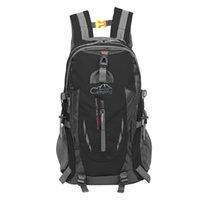 35L التخييم في الهواء الطلق السفر حقيبة الظهر تسلق الجبال حقيبة المشي لمسافات طويلة حقيبة
