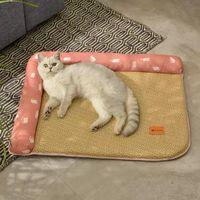 Кошка кровати мебель высокие эластичные кошки CAMA HOUSE комфортабельный прохладный коврик все сезон нелегкий домашнее животное для домашних животных Gatos кровать собака Suministros Para Gat