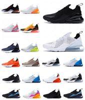 Coussin classique 270S SportsMens Gym Chaussures Femmes Cactus Trails Blanc Bauhaus Blue Triple Triple Baskets Sneaker