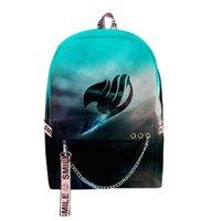 Backpack Creative School Bags Boys Girls FAIRY TAIL Travel 3D Print Oxford Waterproof Notebook Multifunction Shoulder Backpacks