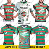 2021 Yeni Güney Sydney Rabbitohs Home Anzac Yerli Rugby Jersey Nrl Rugby League Formalar Şort Avustralya S-5XL
