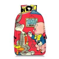 البق الأرنب نمط طالب أكياس طباعة حقيبة الظهر جودة عالية مريحة سعة كبيرة رواية متعة رحلة المدرسة اللعب