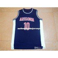 Cheap custom #10 Mike Bibby #24 Andre Iguodala #31 JASON TERRY #11 Kenny Lofton #32 Sean Elliott Arizona Wildcats College Basketball Jersey