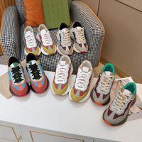 2021 г дизайнерский мужчина женщина плоская повседневная обувь Цвета совместное Высокое качество крупного рогатого скота мягкая комфортная удобная вымотательная вышивка шестая печать больших Size35-44