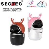 SECTEC 2MP IP Cámara de Seguimiento automático Seguridad Inicio Seguridad Inalámbrica WiFi Network CCTV Linda Cámaras De Deer