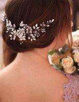 Bridal Headpieces Wedding Crowns Flower Crystal Crown Headdress Golden Baroque Crown Wedding Accessories Jewelry Bridal Tiara