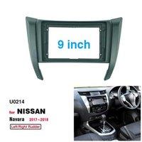 2 Din 9 Inch Car Radio Installation DVD GPS Mp5 Plastic Fascia Panel Frame for NISSAN NAVARA NP300 FRONTIER 2017 Dash Mount Kit