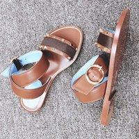샌들 유럽 및 미국 플라스틱 체인 해변 신발 캔디 컬러 젤리 샌들 플랫 바닥 바닥 샌들 35-42 LCJX