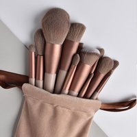 Makeup Brushes 13Pcs Multifunctional Set Professional Soft Fur Highlighter Powder Concealer Foundation Cosmetic Tool