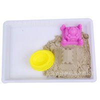 6 Pcs New Children Mini Ancient Building Sand Castle Mold Tools Beach Toys Baby Funny Game Model Building Kits KidsGifts 1434 Y2