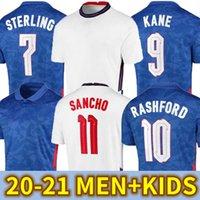 2020 2021 England Nationalmannschaft Fussball Jersey Kane Sterling Rashford Foden Sancho Henderson Barkley Maguire 20 22 Football Hemden Männer + Kinder Kit Sets