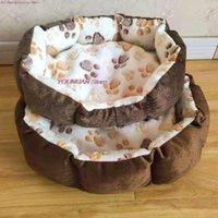 Cat Beds & Furniture Pet Dog Mats Soft Plush Warm Sofa Kennel Sleep Basket Small Dogs Puppy