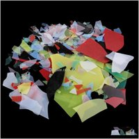 Kunst und Kunsthandwerk 28g Hochwertige farbige Glaskonfetti für Mikrowellenherd DIY Fasting Schmuckstücke oder Verzierungen abzgh Spon9