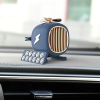 Car Air Freshener Fragrance Vent Clip Dashboard Helicopter Model For Auto Interior Accessories Solid Perfume