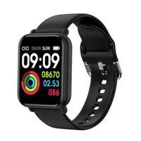 R16 Smartwatch Bluetooth IP68 Su Geçirmez Kalp Hızı Kan Basıncı Monitör Spor Spor Izci Akıllı İzle Erkekler Kadınlar Çocuklar Için