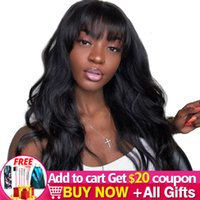 wig Body Wave wig Long 26 28Inch Human hair wigs With Pony Natural Color For Black Women Bulk Sale Prune Malaysian Remy Jarin Hair