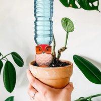 6 adet Bitki Öz Otomatik Çiçek Sulama Püskürtücüler Spike Kil Baykuş Kazançları Sulama Sistemi Bitkiler Houseplant için Su Cihazı EWD6527