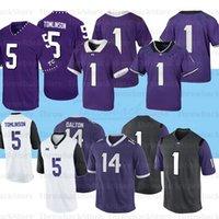 Personalizado TCU Horned Frogs College Football Jersey 30 Garret Wallow 90 Ross Blacklock 14 Andy Dalton 12 Jeff Gladney
