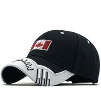 Gorras Brand Canada Bandiera Bandiera Pesca Baseball Berretto da baseball di Canada Hat Mens Snapback Bone Regolabile Wonmen Baseball Hat Hat Cappello Snapback