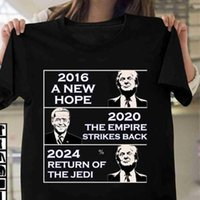 Trump Biden American Presidential Election Letters Printed T-shirt Fashion Summer Boys and Girls Short Sleeve Other Home Textile HWA8496