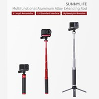 Selfie Monopods BEESCLOVER Stick Extension RodAluminum Alloy Sports Camera Accessories For 9 Om4 Silica Gel R57