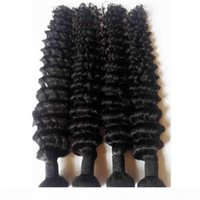 Brazilian Indian human Hair weft extension deep wave Sexy Formula Hair Factory price 3 Bundles Natural Color Best human Hair Weave DHgate