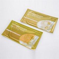 Colágeno Cristal Golden Gel Bolso Mascarilla Máscara Máscara Anti-Envejecimiento Oro Blanco 2 Estilos