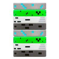 Braccialetti di fascino 1 PZ Punk Style Pixel Miner Video Game Goccia in silicone in silicone