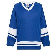 2021 homem em branco Gelo Hóquei Jerseys Uniformes Atacado Prática Hockey Shirts Good 0052
