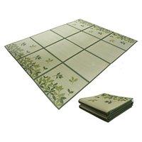 Carpets Traditional Tatami Carpet Floor Mat Rush Japanese Style Bed Unit Sheet Portable Living Room Bedroom Mattress