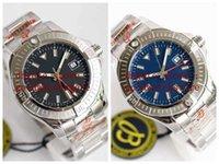 Maker Top Quality Wristwatches 45mm A32397101B1X2 Black blue dial Mechanical ETA 2836 Automatic sports Bands Sapphire 904L Watches