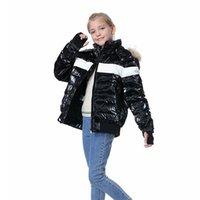 Orangemom бренд подросток зимнее пальто белый утка вниз детская куртка на 8-18 лет мальчики девушки одежда согреть парку мама и мне 211007