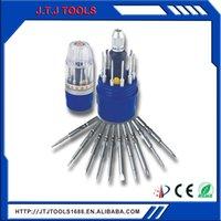 Консервированные электрические отвертки покрывают с ручными ручками для обслуживания дома и оборудования