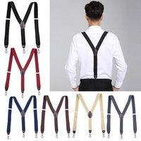 Belts Ly Hook Buckle Fashion Suspenders Stretchy Wide Elastic Men Pliers Women Braces
