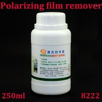 Removedor de esmalte de esmalte atacado-8222 250ml Polarizador Polarizador PolarizaçãoAdesiva Cleaner para folha de polarizador quebrada Remova o líquido Samsung1