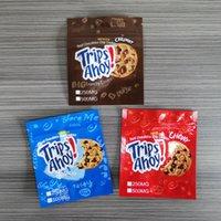 Boş 250 mg 500 mg Geziler Ahoy Çanta Koku Geçirmez Ambalaj Gerçek Çikolatalı Kurabiye Çanta Toasted Pirinç Tahıl Mylar Paketi