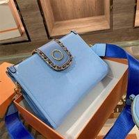 High-quality designer handbags ladies Single shoulder bag handbag Clutches bags wallet colorful inner clips multi-function large-capacity